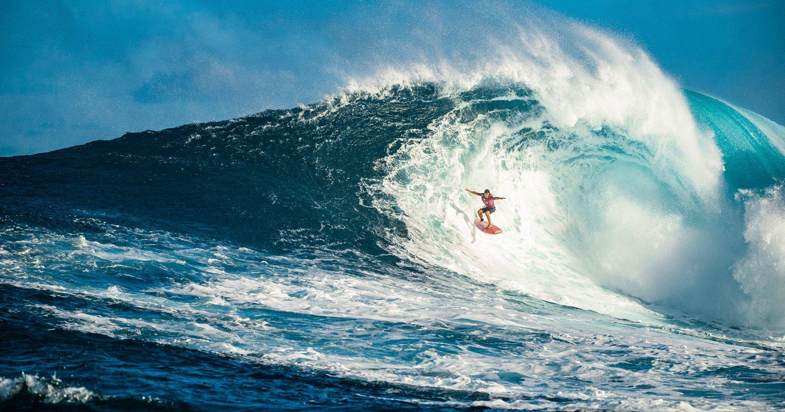 Red Bull Showcases Women Photographers Capturing Hawaii's Big Wave Season