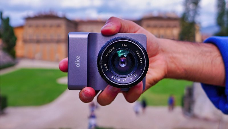 Alice Camera Brings AI and Deep Learning to a Full-Size Camera