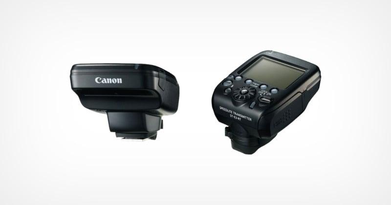 Canon Unveils the Speedlite Transmitter ST-E3-RT, Version 2