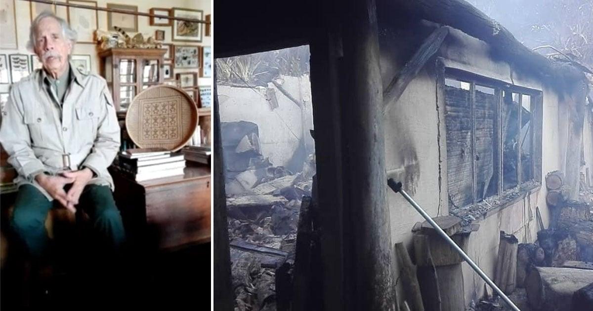 Il fuoco distrugge l'archivio fotografico di 70 anni del famoso esploratore venezuelano