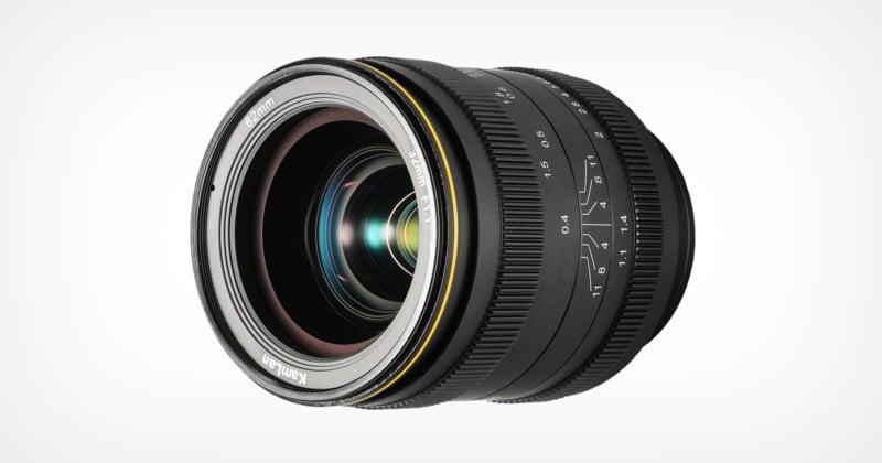 KamLan Unveils 32mm f/1.1 Manual-Focus Lens for Crop-Sensor Cameras