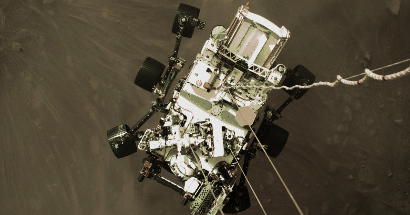 """Il Mars Rover """"Perseverance"""" della NASA ha restituito nuove foto ad alta risoluzione"""