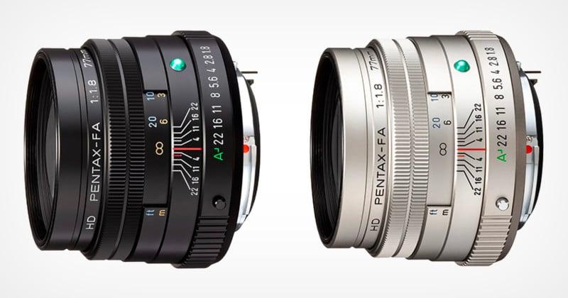 Leak Reveals Updated Pentax Optics, Including 77mm f/1.8 Limited Lens