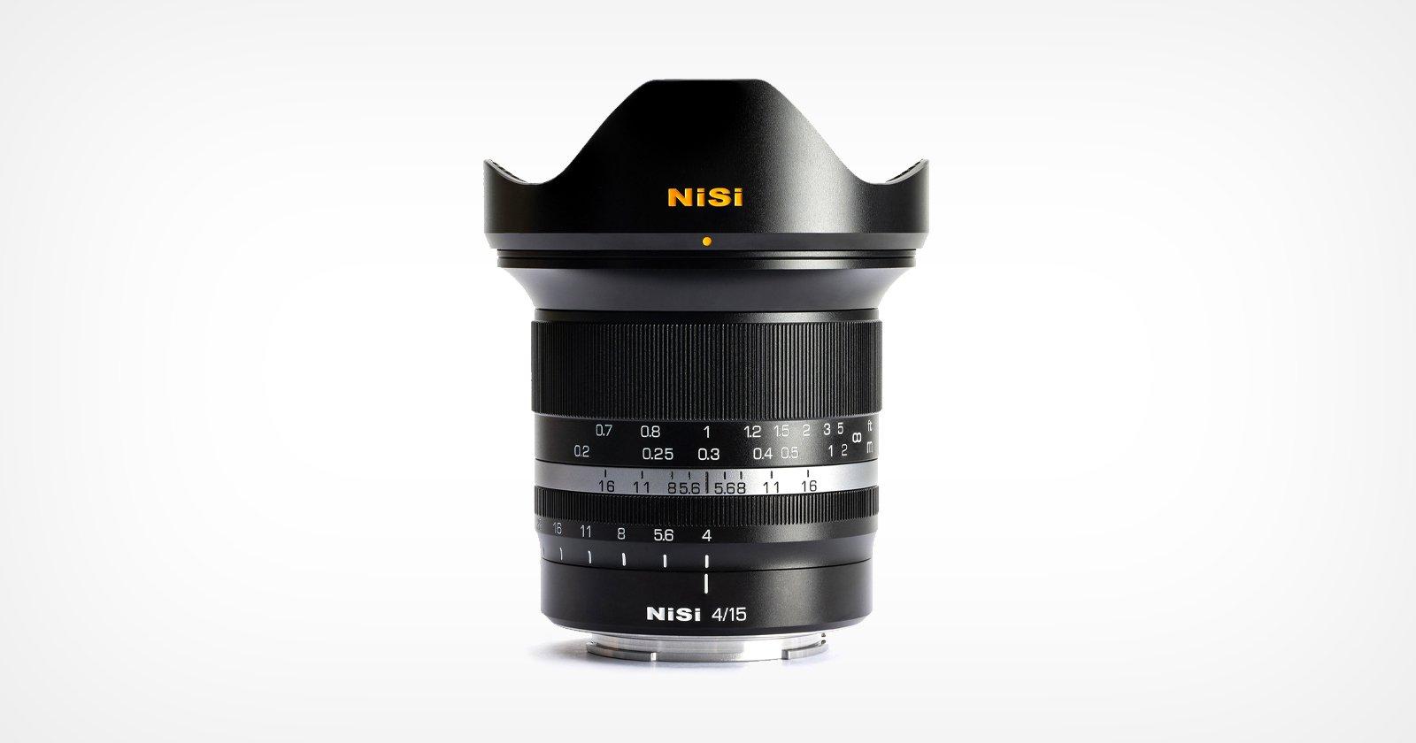 """Il NiSi 15mm f / 4 Sunstar è un """"inizio promettente"""" per l'azienda"""