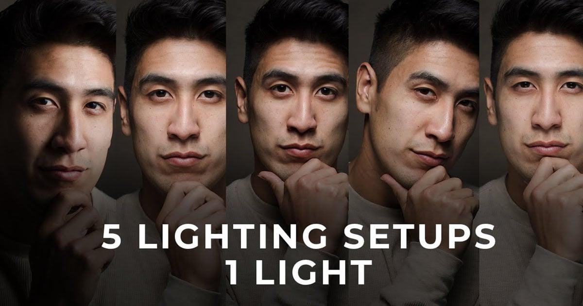 5 One-Light Modifier Setups: Portrait Lighting in 10 Minutes