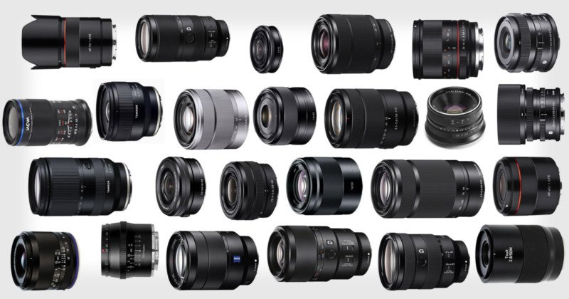 Bite-Sized Reviews of 27 Popular E-Mount Lenses for Sony Cameras