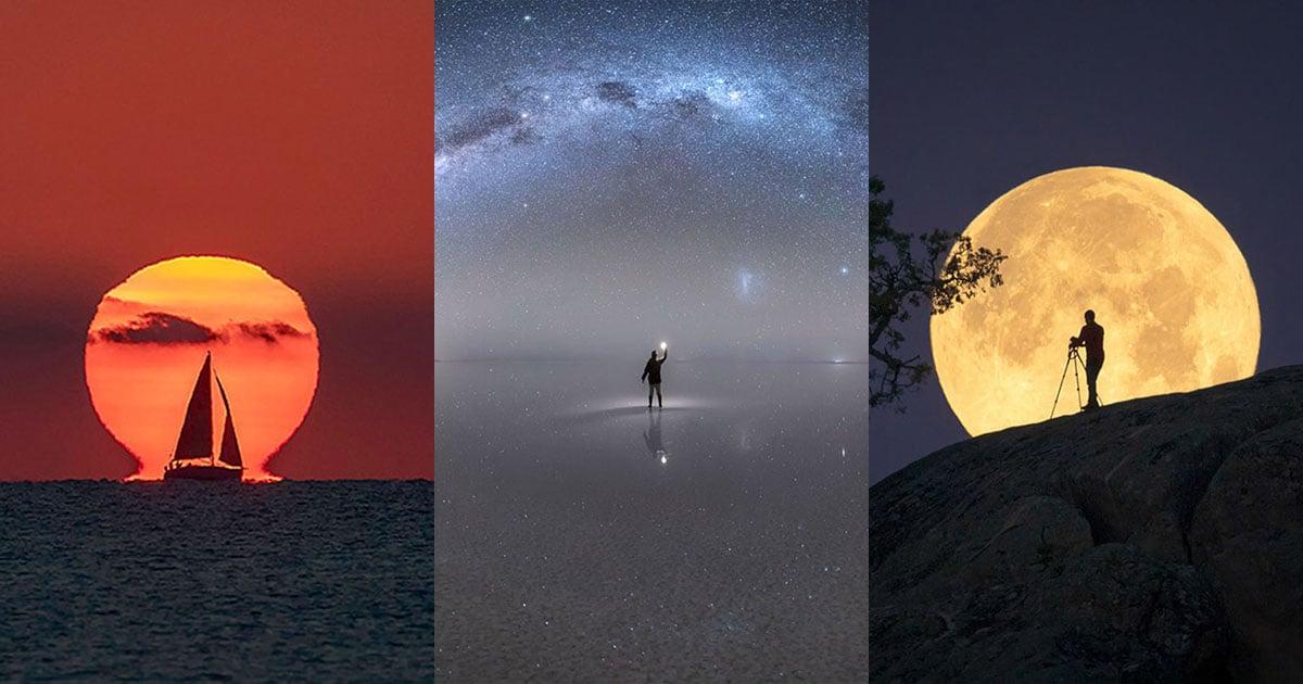 36 Awe-Inspiring Sun, Moon, and Milky Way Photos of 2020