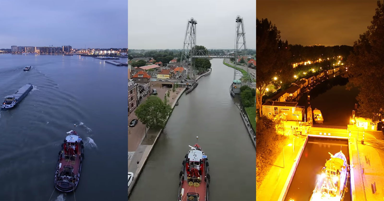 Aerial Boat Timelapse Offers Beautiful Tour of Dutch Waterways