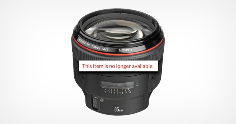 Canon Clarifies Discontinuing 26 EF Lenses: 'Series Optimization'