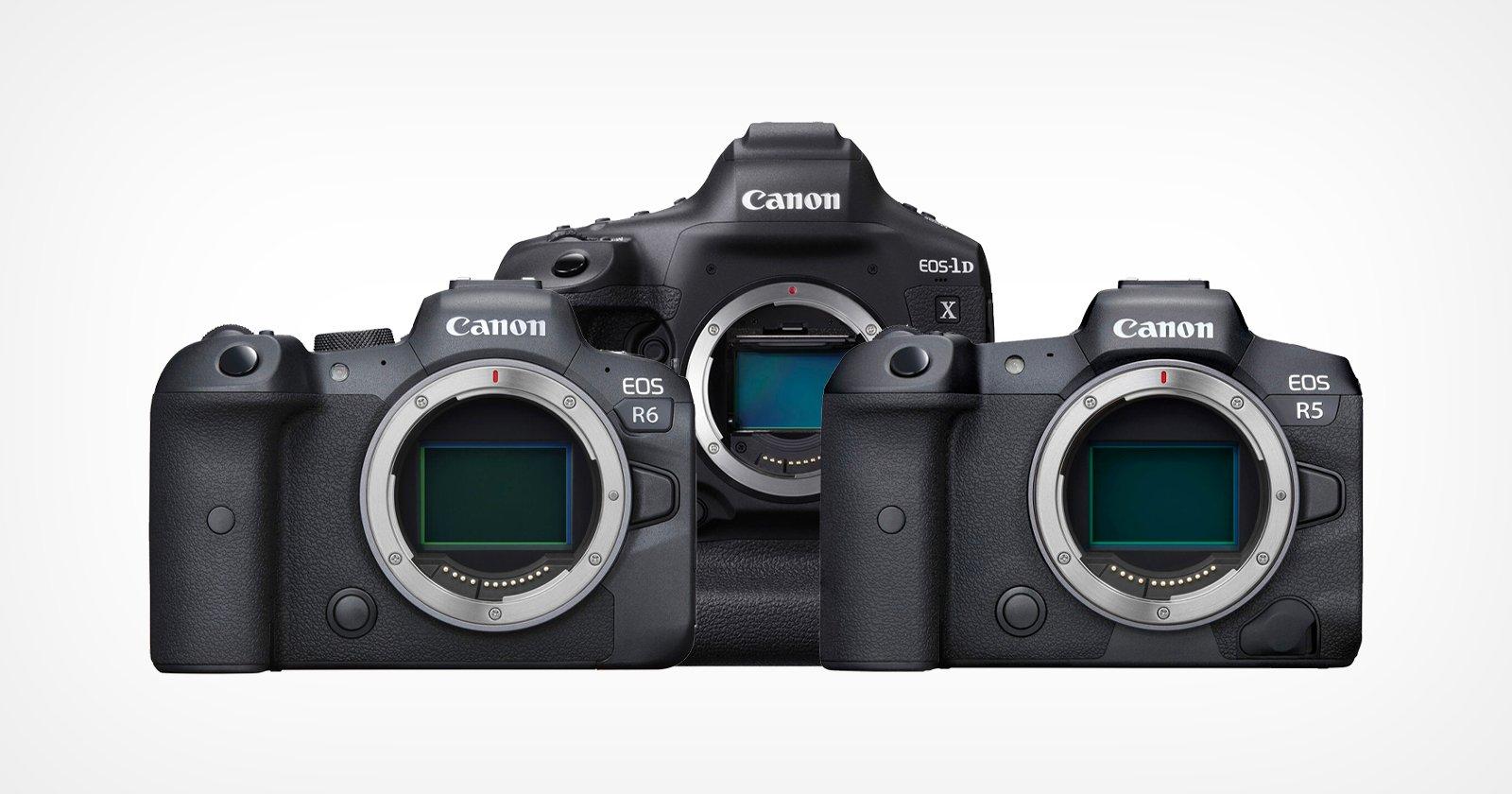 Canon aggiunge aggiornamenti del firmware focalizzati sul video per 1DX Mark III, R5, R6
