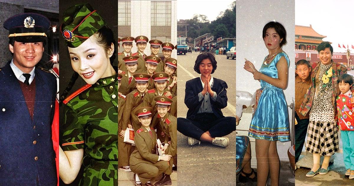 Foto scartate e non viste della Cina negli anni '80 e '90
