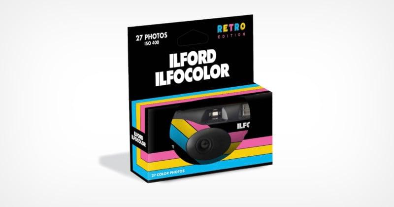 Ilford Launches the Ilfocolor Rapid Retro Edition Disposable Camera
