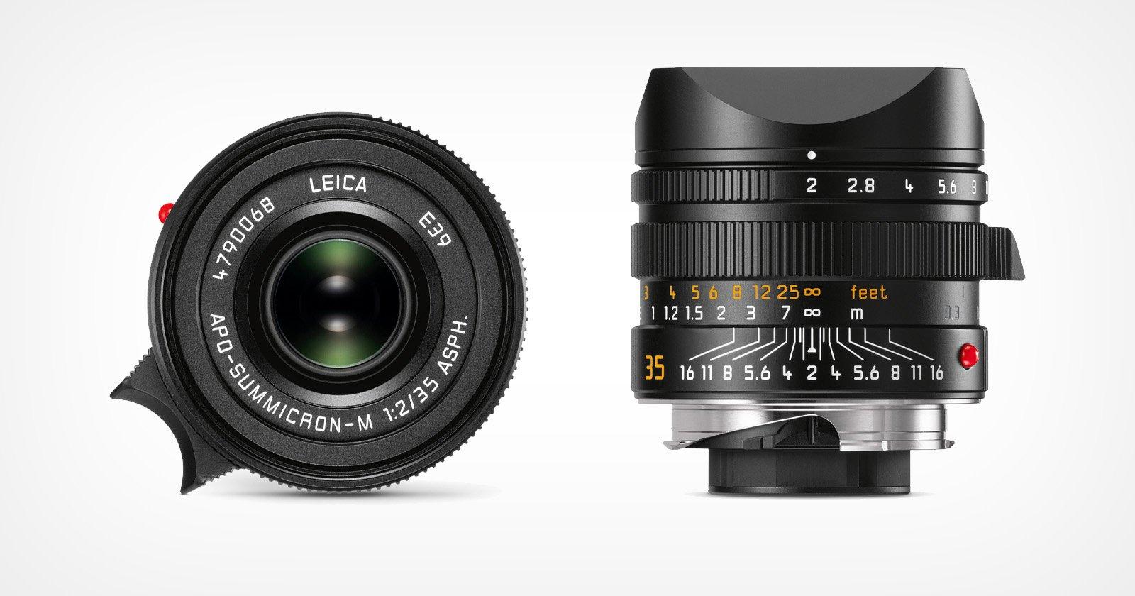 Leica Unveils the APO Summicron-M 35mm f/2 ASPH Lens