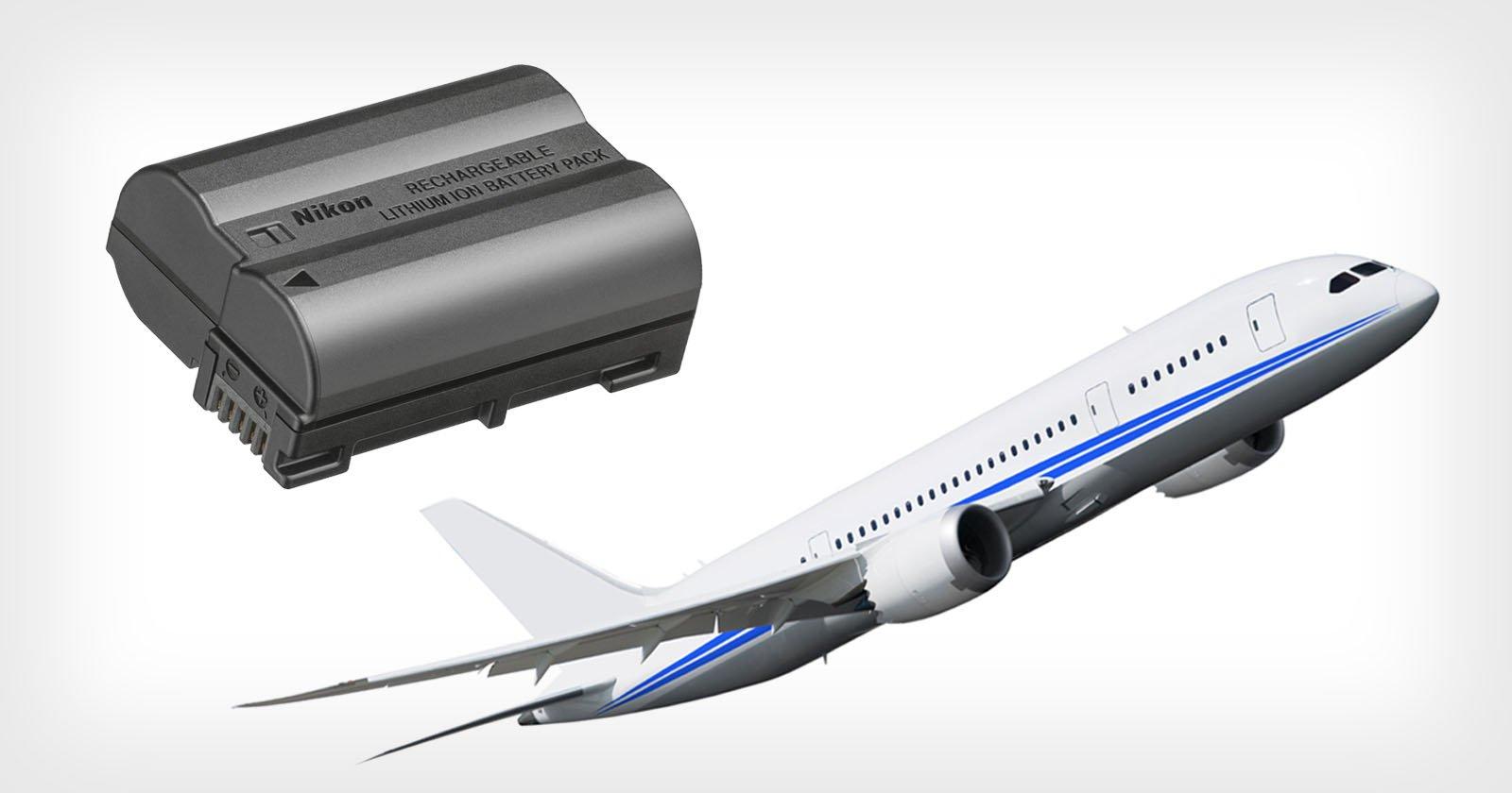 Una guida per viaggiare con le batterie agli ioni di litio come fotografo
