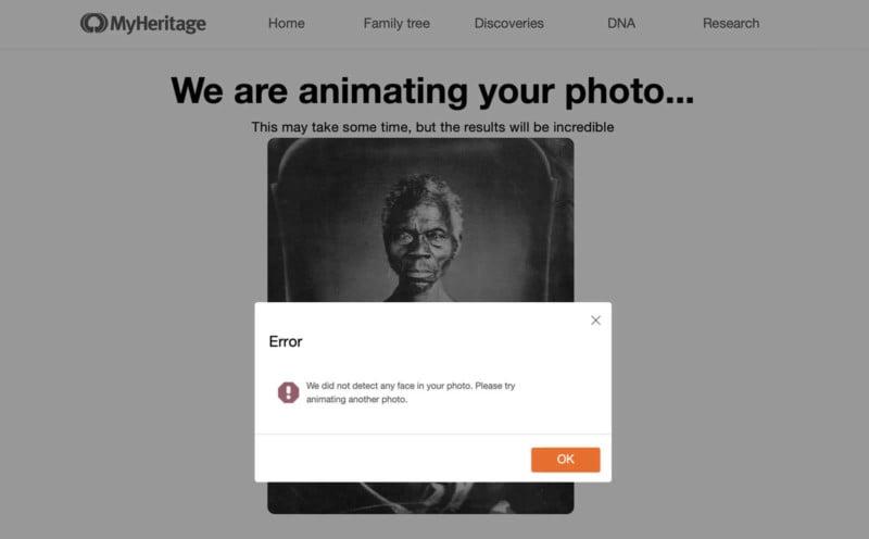 AI 'Deep Nostalgia' Images Have Deep Limitations