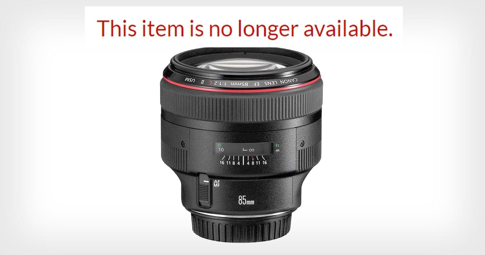 Canon sembra voler abbandonare rapidamente gli obiettivi DSLR più diffusi