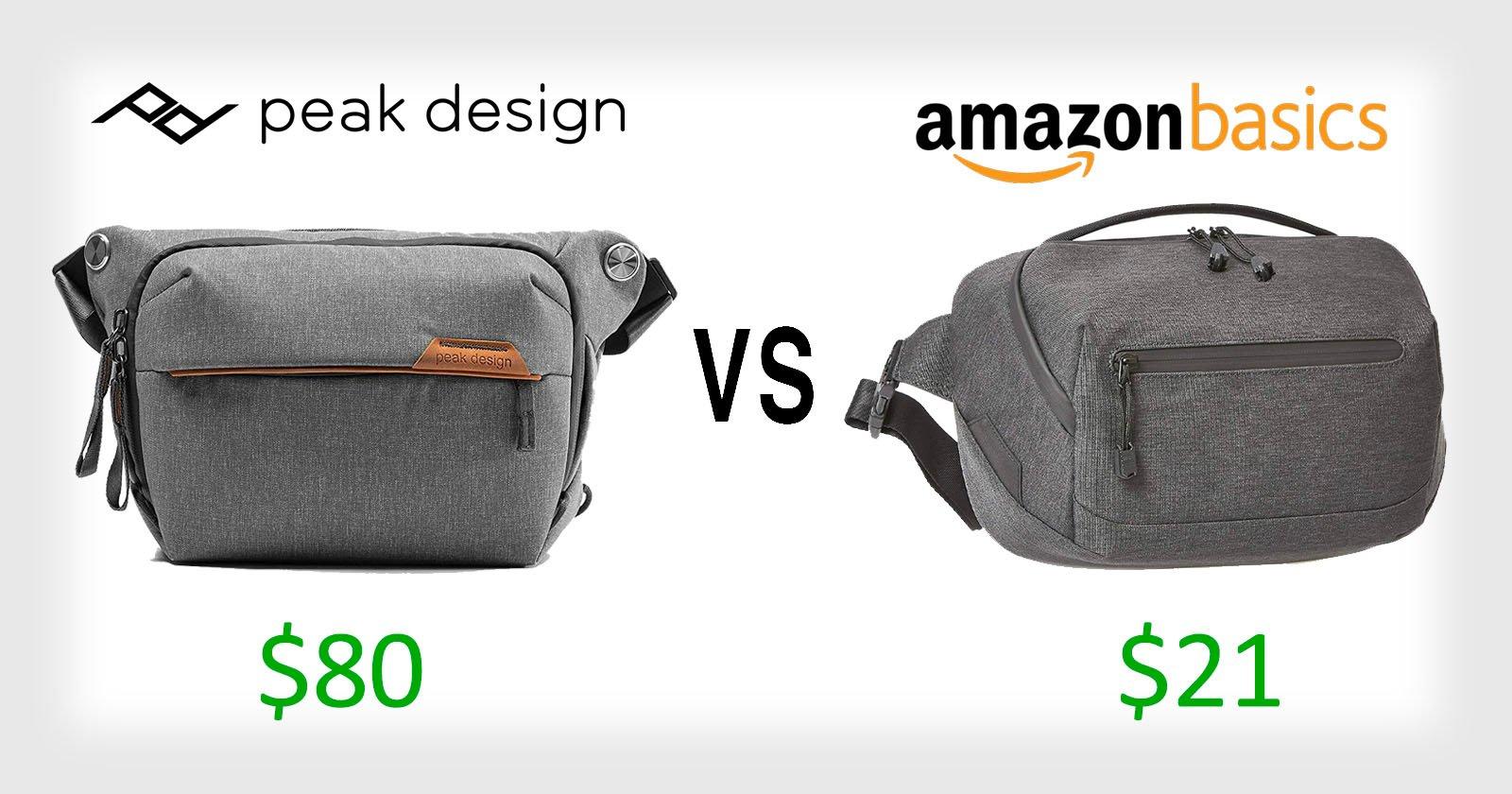 """Peak Design chiede ad Amazon di """"copiare"""" la borsa a tracolla di tutti i giorni"""