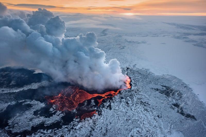 volcano eruption fine art prints 3