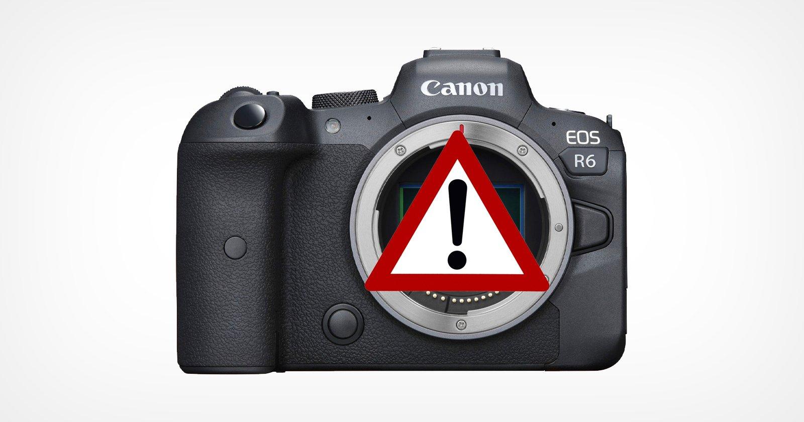 Canon rilascia rapidamente il nuovo firmware R6 per risolvere il bug video