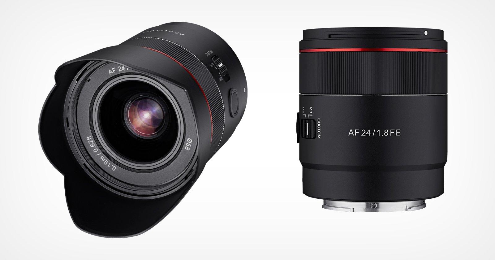 Rokinon lancia Astro-Focused 24mm f / 1.8 Prime per Sony E-Mount
