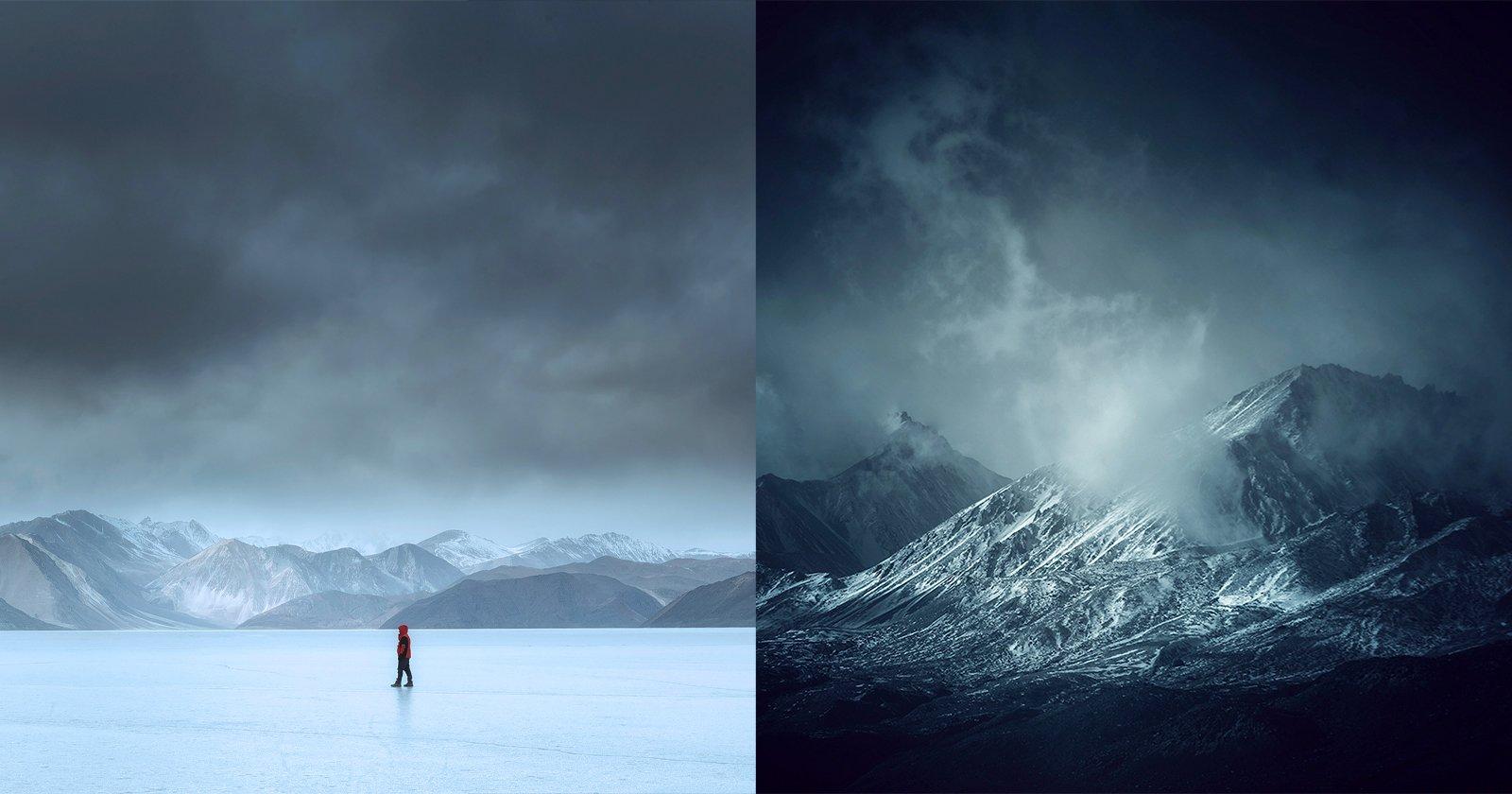 Ammira la bellezza dell'inverno raramente fotografata in Ladakh, in India