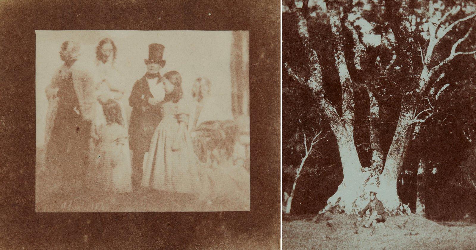 Il set delle prime foto al mondo di Fox Talbot vende per l'incredibile cifra di 1,96 milioni di dollari