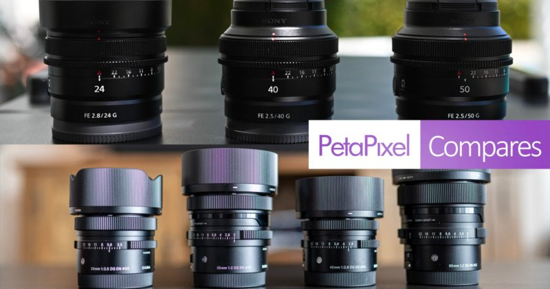 Sigma I-Series Lenses vs Sony G Compact Primes: No Losers Here