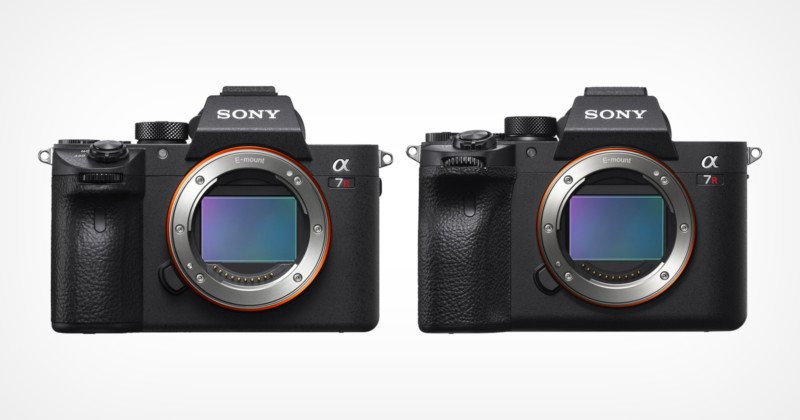Sony Quietly Launches a7R IIIa and a7R IVa Mirrorless Cameras