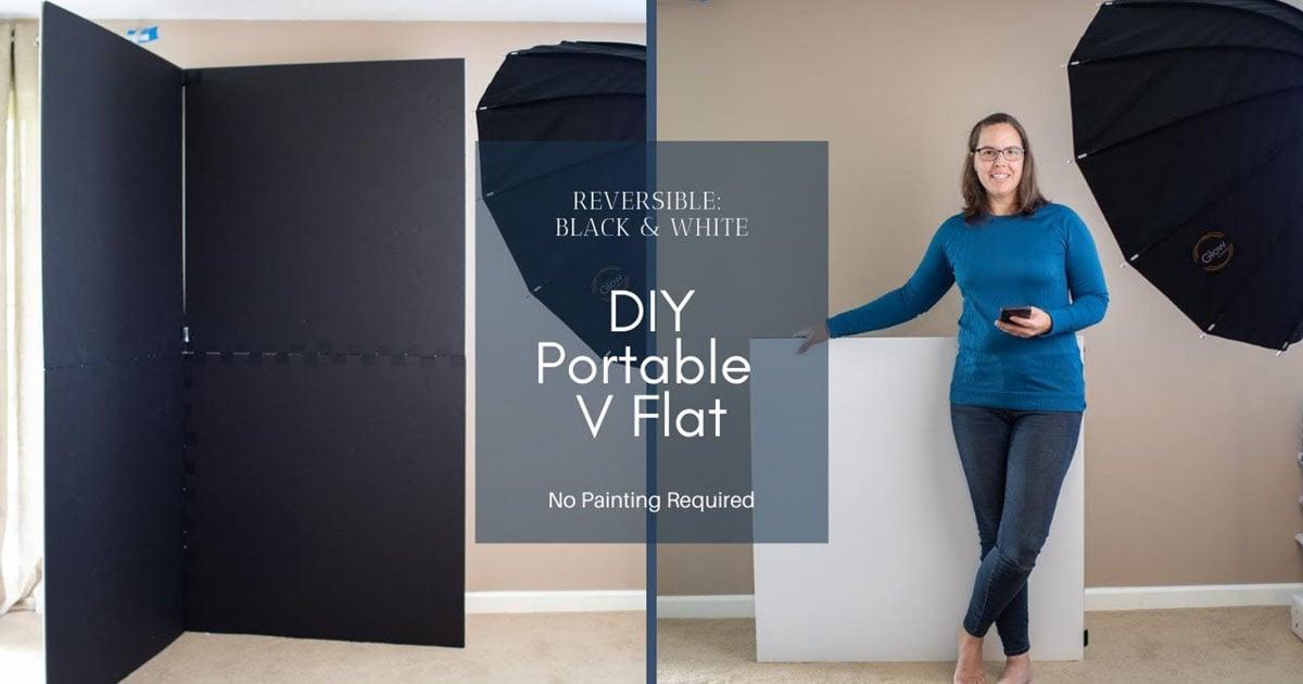 Come realizzare un V-Flat portatile fai-da-te