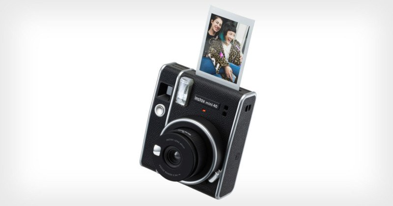 Fujifilm Unveils the Instax Mini 40 Camera and 'Contact Sheet' Mini Film