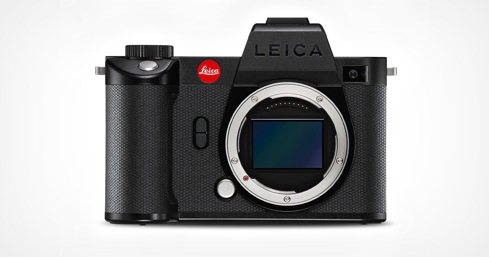 Leica SL2-S Update Improves Autofocus, Adds Video Features