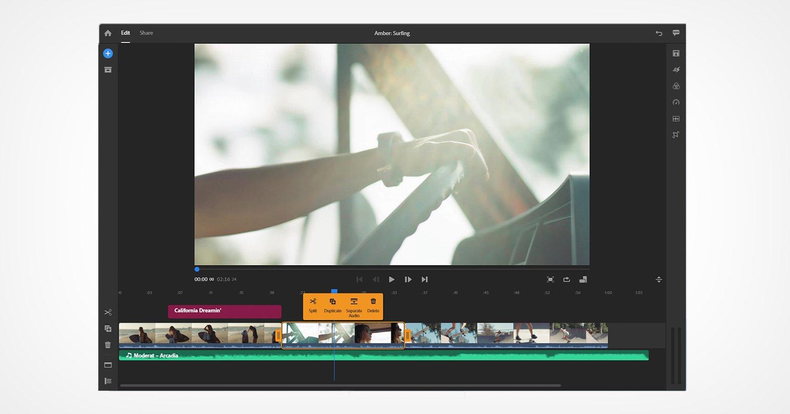 Adobe Rush ottiene il supporto per Apple M1, Premiere Pro ottiene un aumento della velocità
