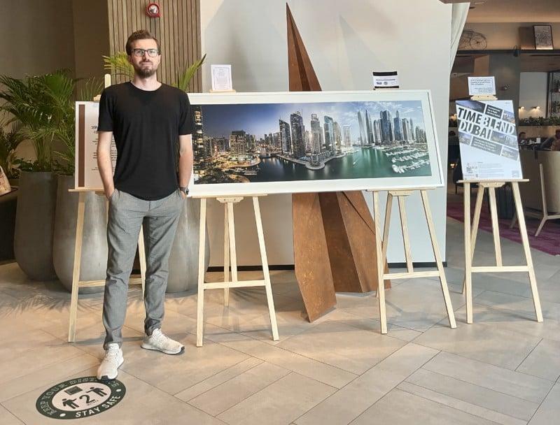 'Timeblend Dubai' Series Folds the Soul of Timelapses into Still Photos