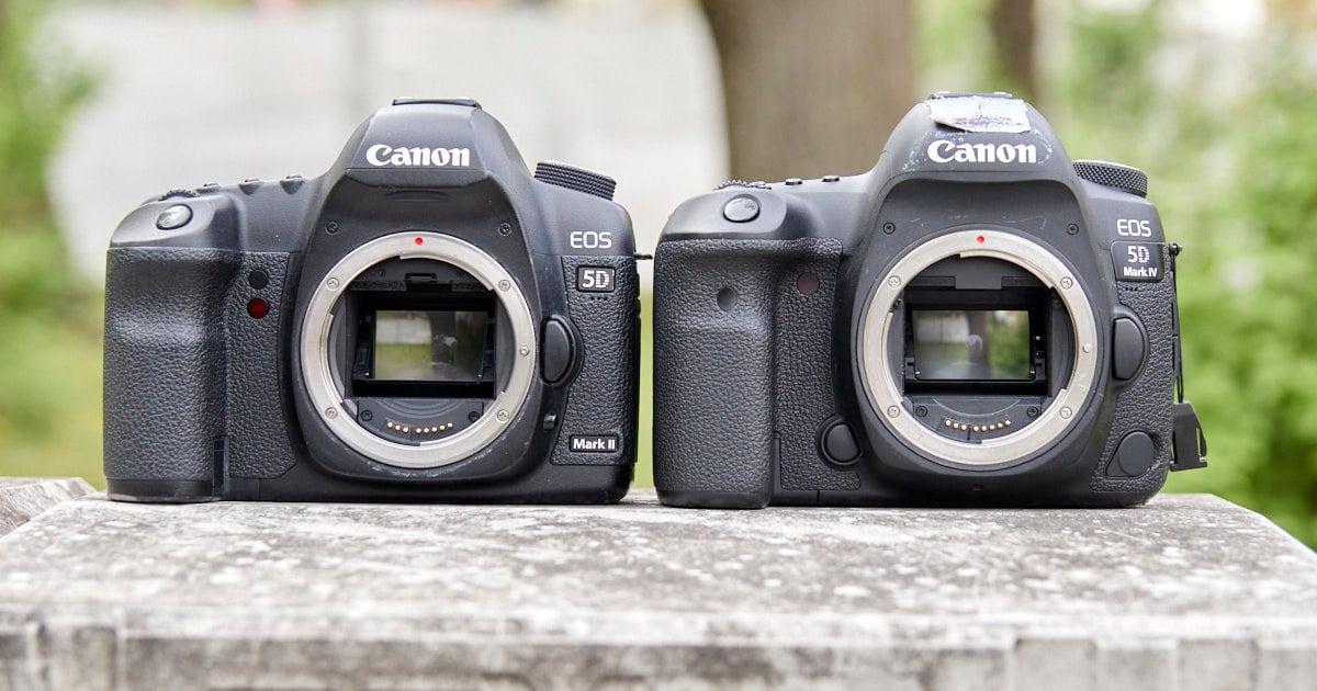 5D Mark II vs 5D Mark IV: confronto tra due leggendarie reflex digitali Canon