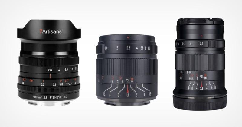 7artisans Adds Three New Lenses to its Nikon Z-Mount Line