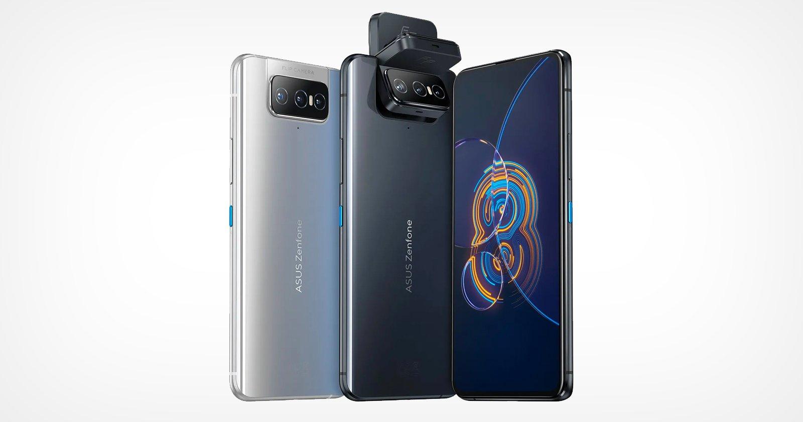 Asus Unveils the Zenfone 8 and Zenfone 8 Flip Smartphones