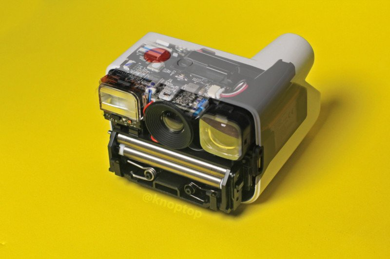 Polaroid Go Instant Camera Teardown: Inside the Tiny Film Camera