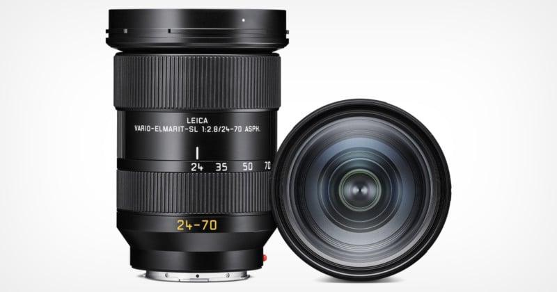 Leica Unveils the Vario-Elmarit-SL 24-70mm f/2.8 ASPH Lens