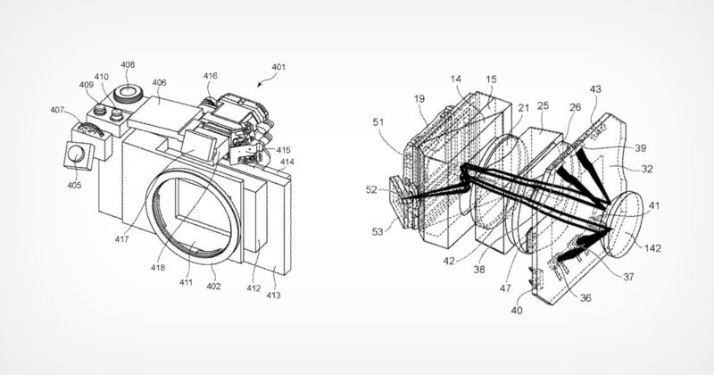 Patent Shows How Canon Will Integrate Eye-Control AF into an EVF