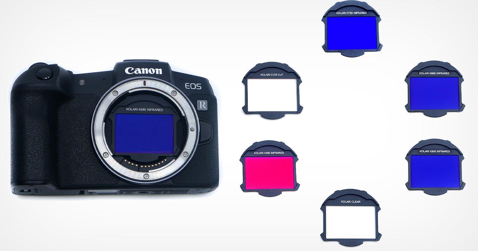 Questi filtri clip-in Canon R5 si adattano tra il sensore e l'obiettivo