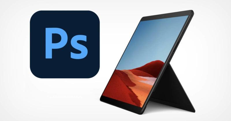 Adobe Photoshop Now Runs Natively on Windows 10 on ARM