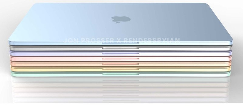 Next MacBook Air Powered by M2, To Come in Multiple Colors: Report