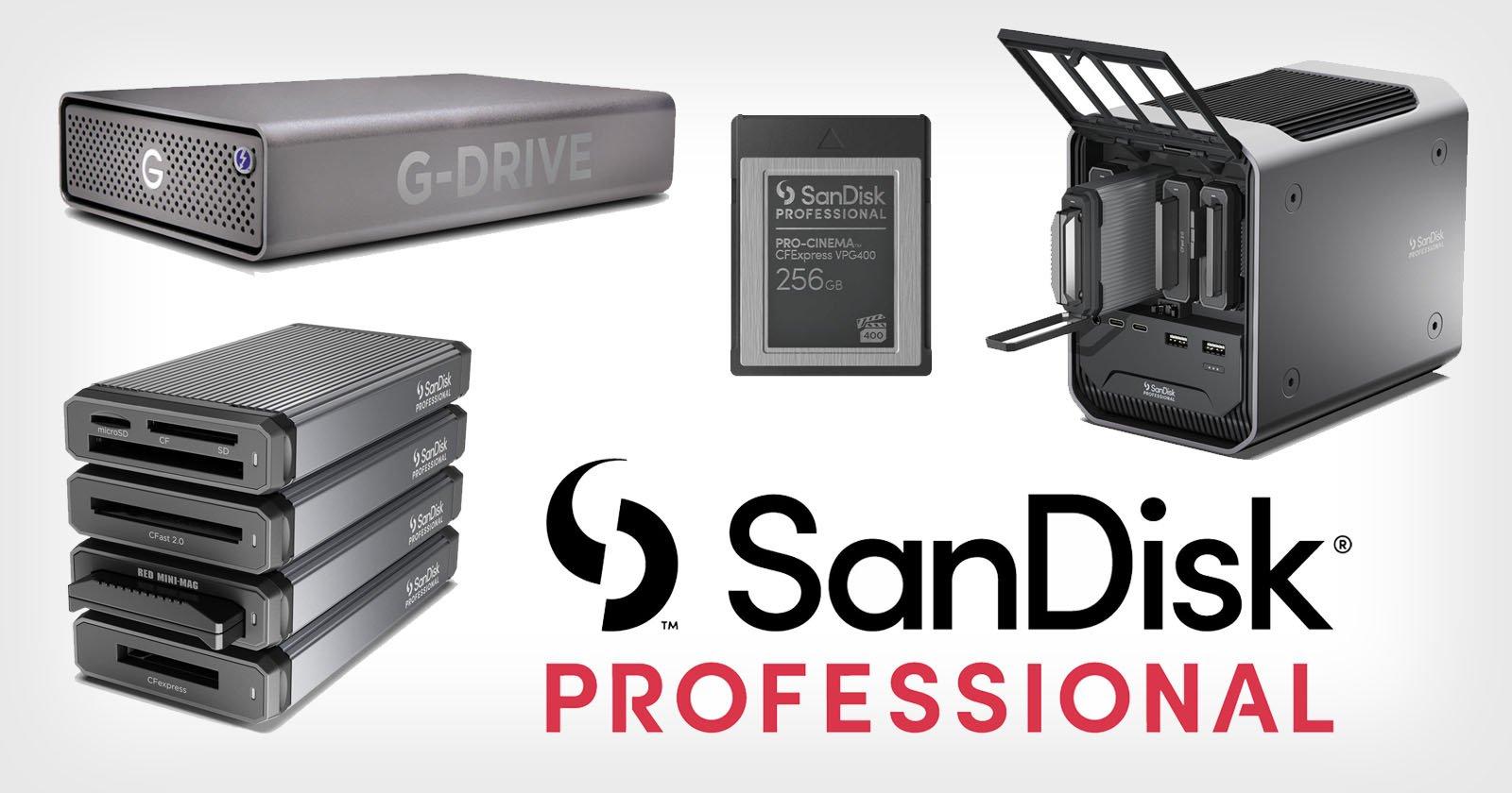Western Digital Unveils SanDisk Professional Storage Solutions for Pro Creators