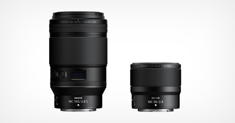 Nikon Launches 105mm f/2.8 and 50mm f/2.8 Z-Mount Macro Lenses