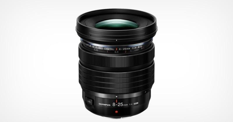 Olympus Launches the M.Zuiko Digital ED 8-25mm f/4 Pro Lens