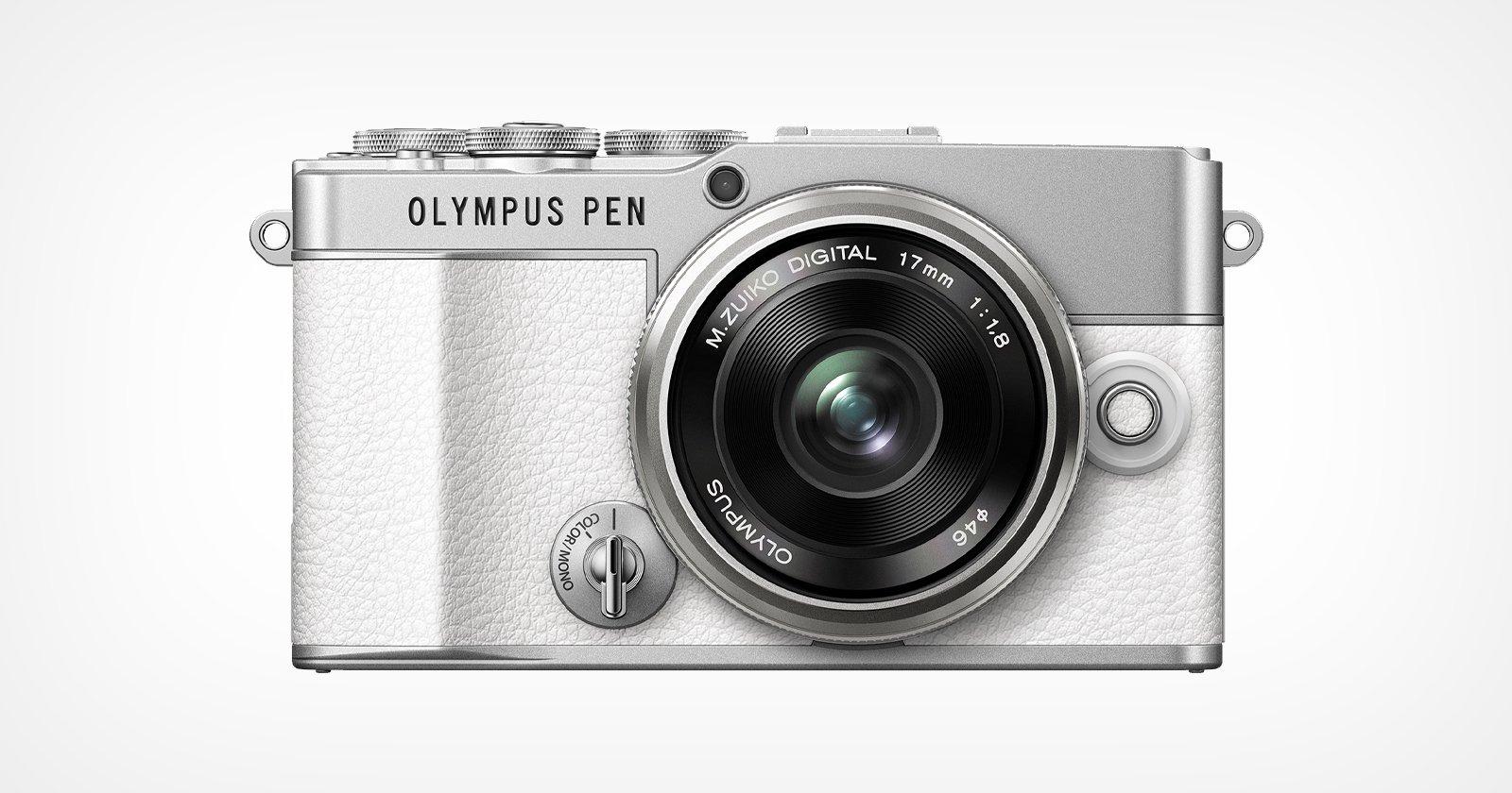 Olympus svela la PEN E-P7, ma non arriverà in Nord America