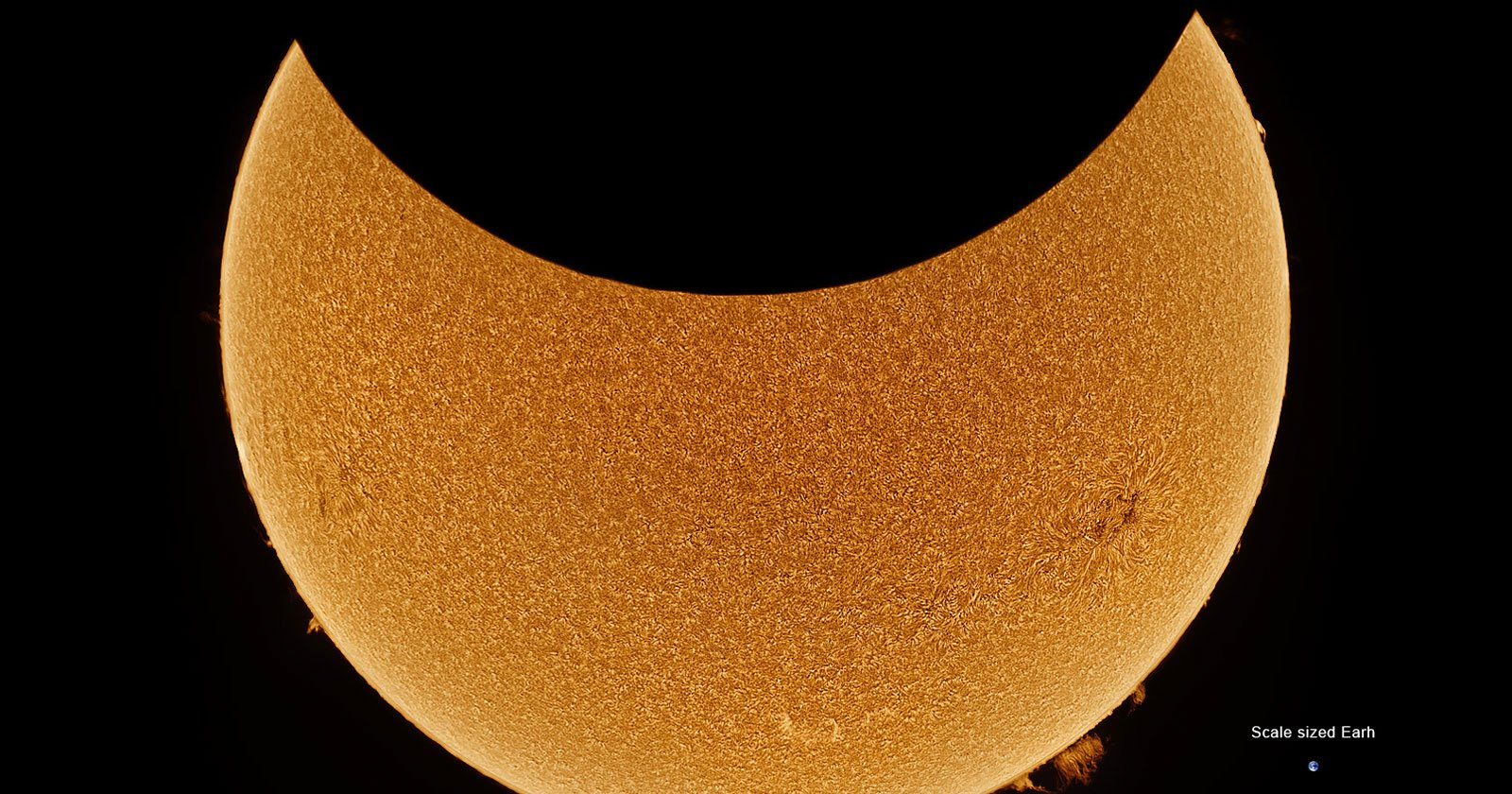 This 2021 Solar Eclipse Timelapse Was Made from 50000 Photos - PetaPixel