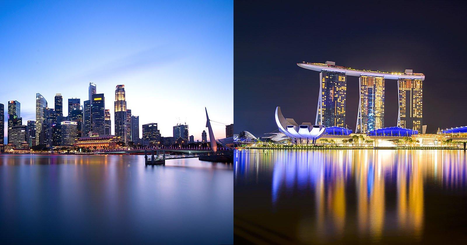 La fotografia dell'ora blu e la fotografia notturna non sono la stessa cosa