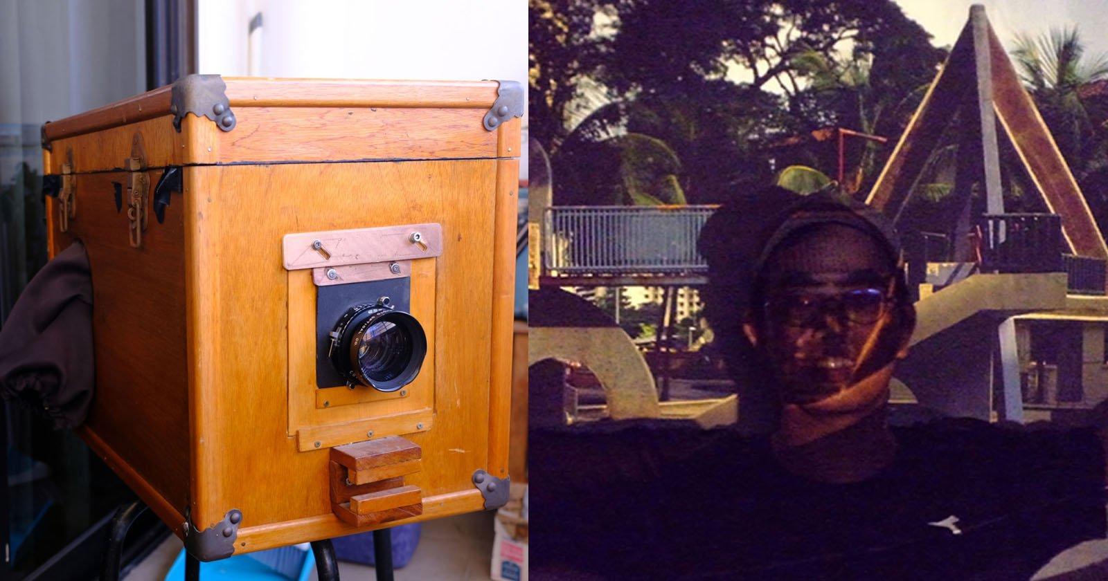 Come ho convertito la mia macchina fotografica Afghan Box in un proiettore per diapositive 4×55