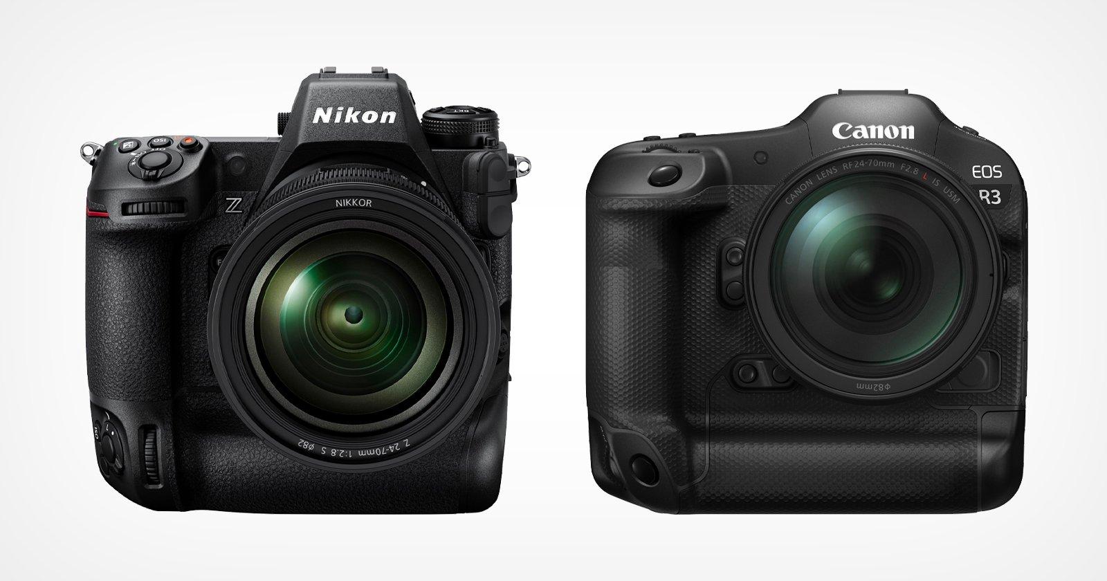 Canon EOS R3 prevista a settembre, Nikon Z9 a novembre